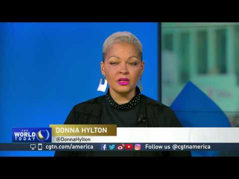 Donna Hylton on women's march