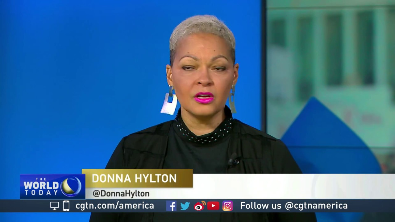 Donna Hylton on women's march - YouTube