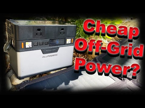 ALLPOWERS Portable Generator - Small - Affordable Portable Solar Power