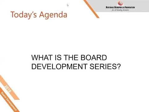 Board Development Series