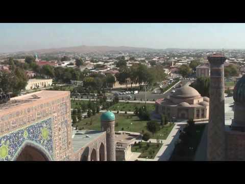 Visit Samarkand Overlooking Samarkand Travel Guide Silk Road Tours Uzbekistan #silkroad #samarkand