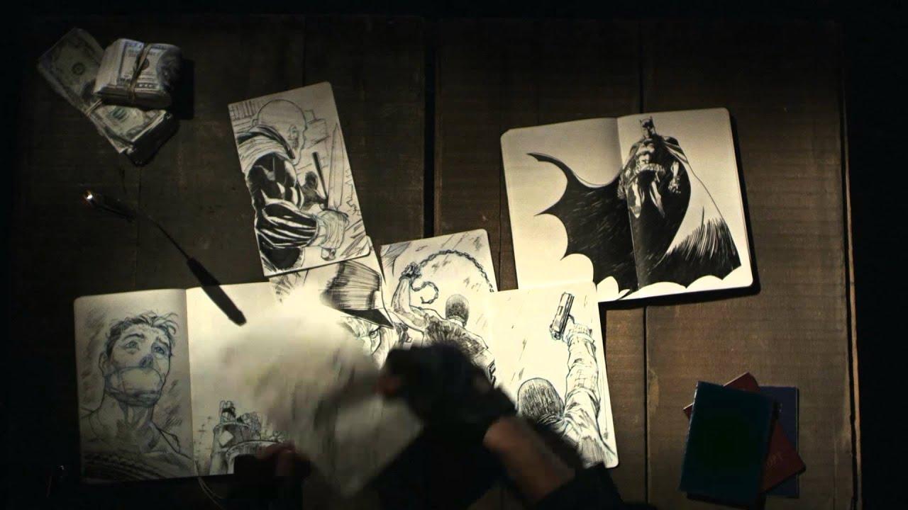 画像: Moleskine joins Batman in Gotham City youtu.be