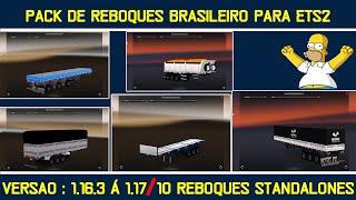 Pack de reboques brasileiros para ets 2 - Versao 1.17