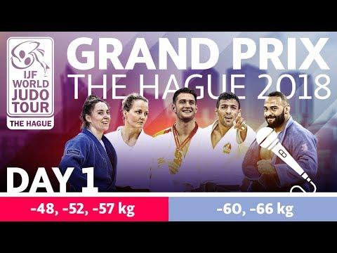 Judo Grand-Prix The Hague 2018: Day 1