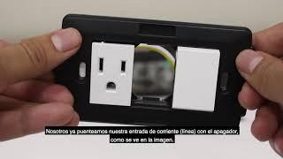 Cómo instalar un apagador con contacto.