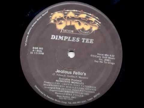 Dimples Tee   Jealous Fellas Bass Station Records 1987