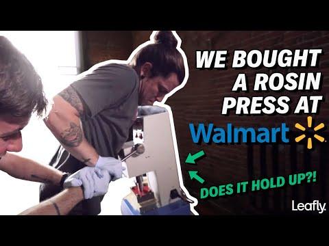 Walmart Rosin Press
