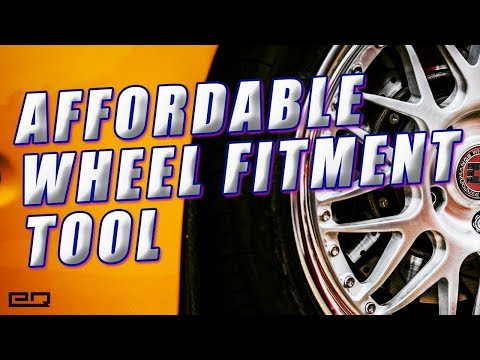 Affordable Wheel Fitment Tool! Perfect Fitment Guide!