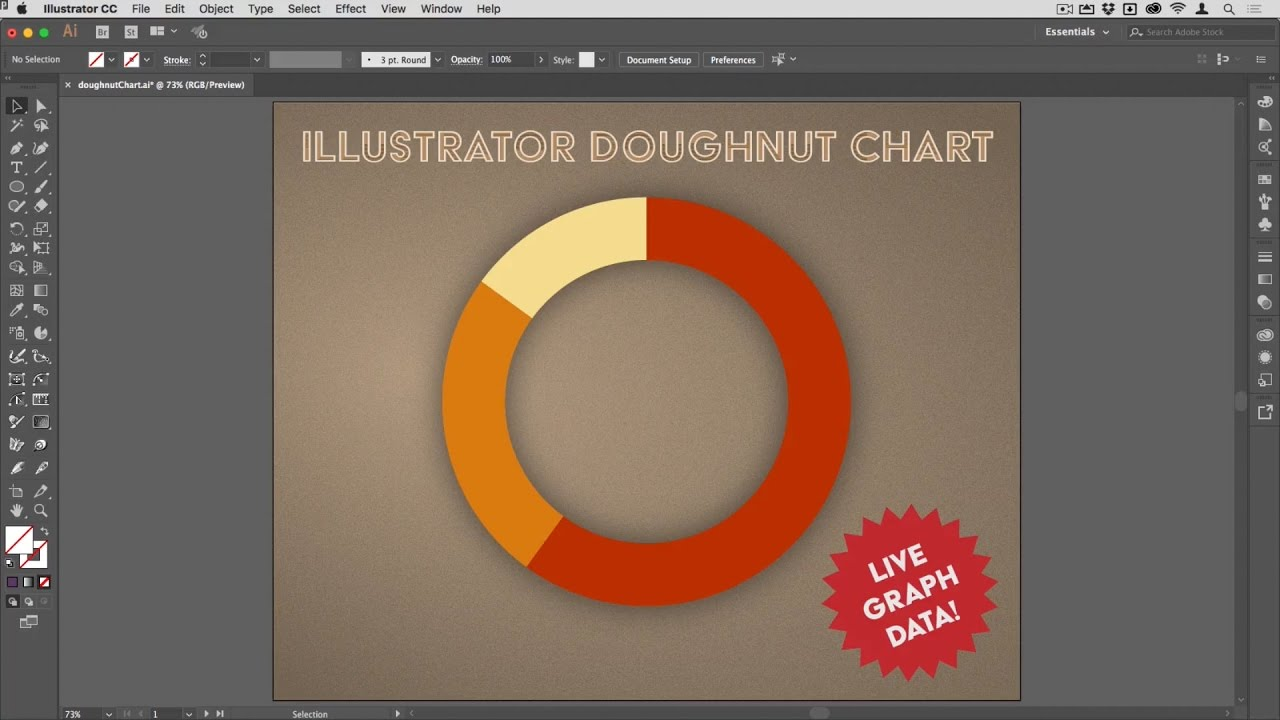 Infographic tutorial illustrator basicon