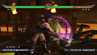 Mortal Kombat Armageddon KABAL - (VERY HARD) - (WII)【TAS】