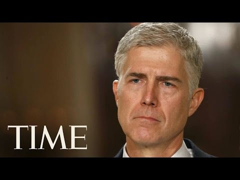 Neil Gorsuch Had A Tense Exchange Over Maternity Leave At His Confirmation Hearing | TIME