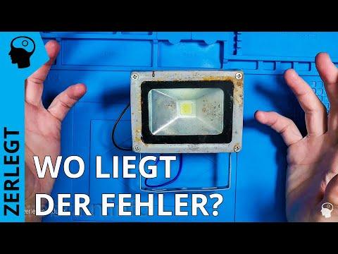 Defekter LED Strahler - ist da noch was zu retten?