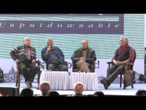 Sirshendu, Samaresh, Swapnamoy, Kunal at Kolkata Literary Meet 2016