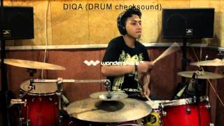 check sound DIQA A&TR1966 solo drum)