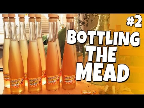 CWTK - Brewing Honey Mead #2 - Bottling the Mead