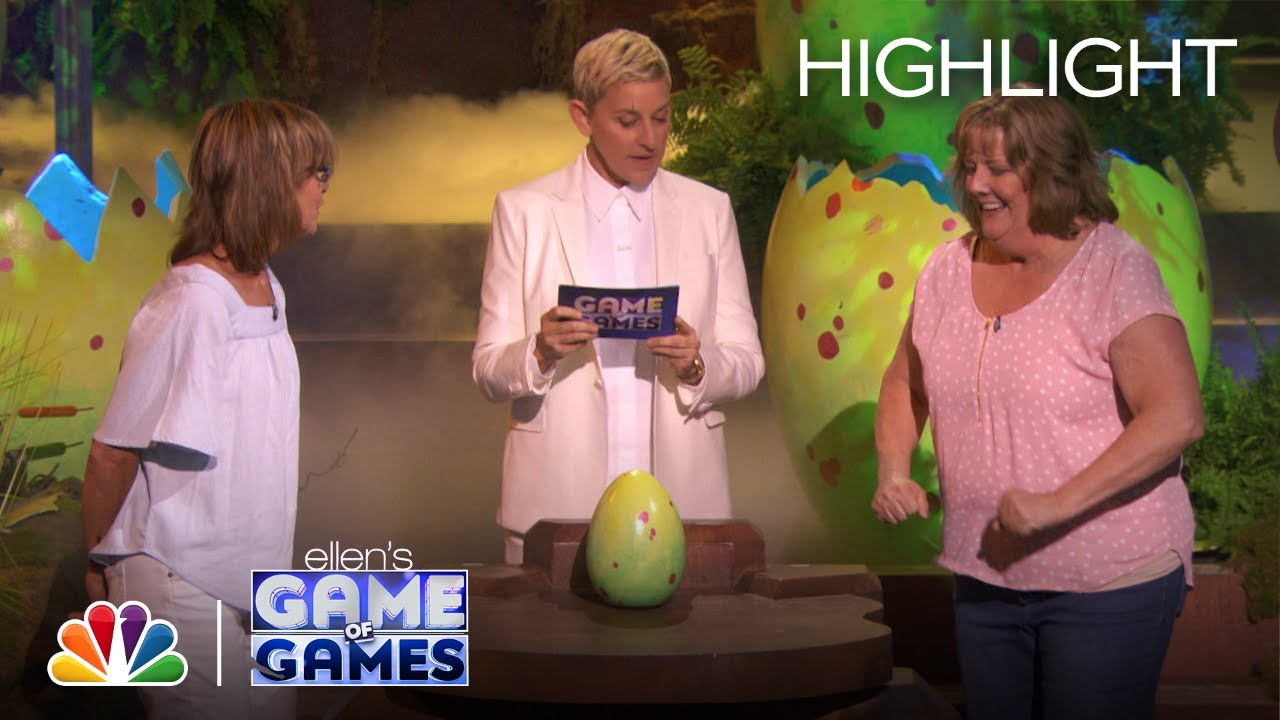 Son of a One Eyed Monster: Someone Gets Splashed in the Face A LOT! - Ellen's Game of Games 2020