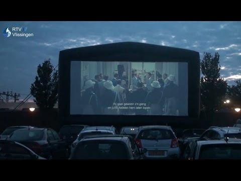 Drive in bioscoop in vlissingen groot succes youtube for Drive in bioscoop