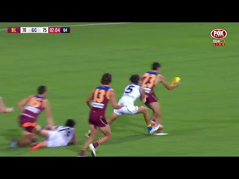 Lions v Suns - Last Two Minutes - Round 5, 2018 - AFL