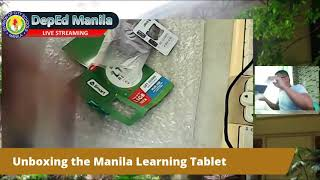 Unboxing the Manila Learning Tablet