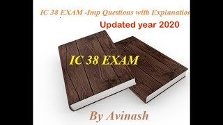 HOW TO 100% PASS IRDA || IC 38 EXAM -Imp Questions with Explanation of irda ic38 mock test