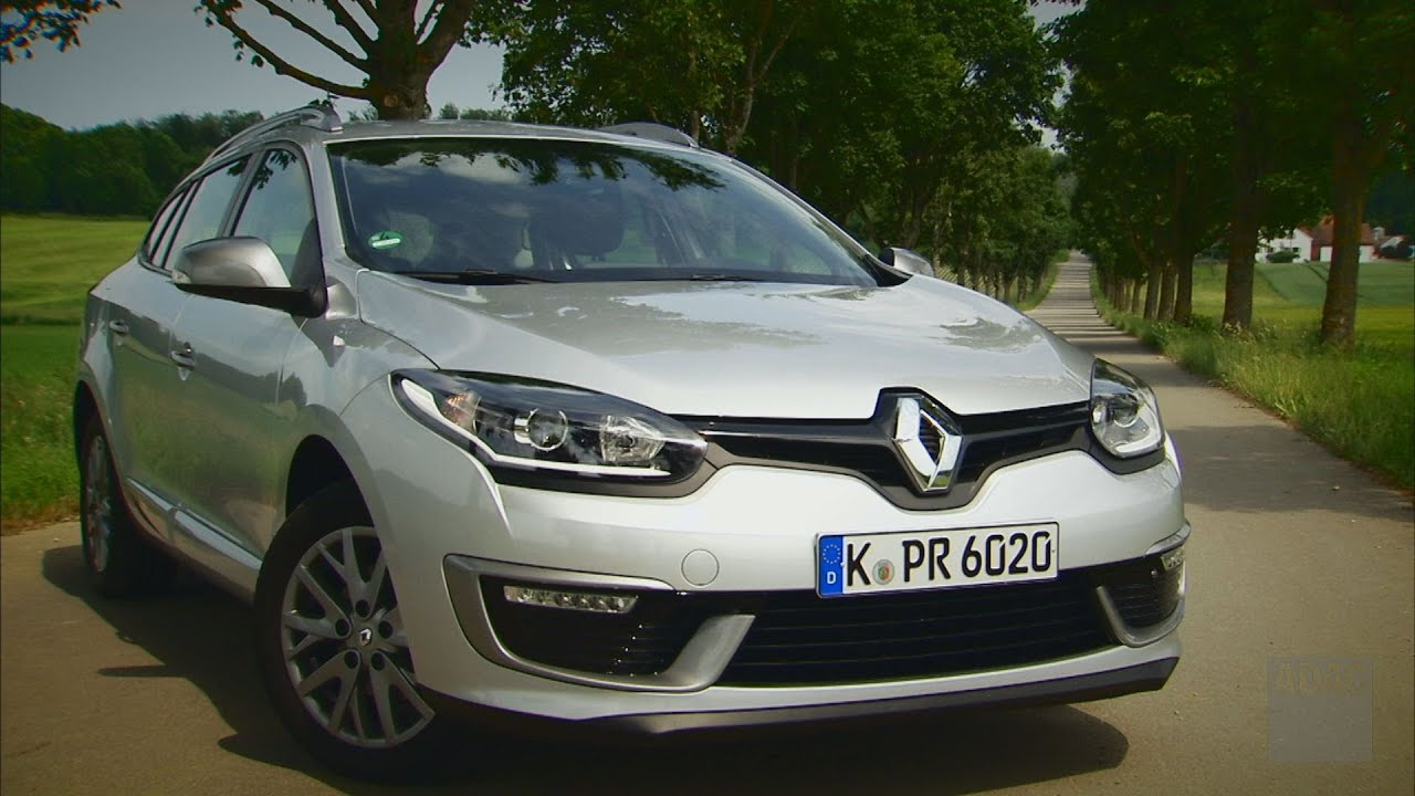 renault m gane grandtour dci 110 im test autotest 2014 adac youtube. Black Bedroom Furniture Sets. Home Design Ideas