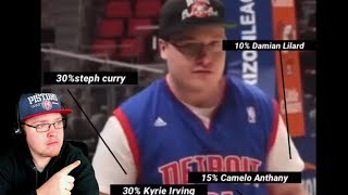 Reacting To Comparing KrispyFlakes To NBA Players