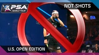 Squash: NotShots - U.S. Open Edition