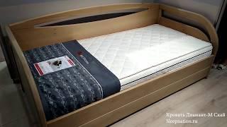 Кровать Диамант-М Скай обзор от интернет-магазина Sleepnation.ru