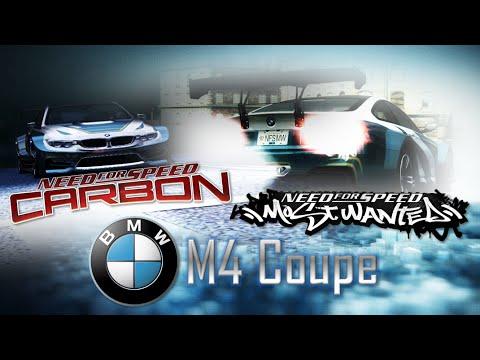 NFS Most Wanted (2005) & NFS Carbon | BMW M4 No Limits (Mods) [HD]