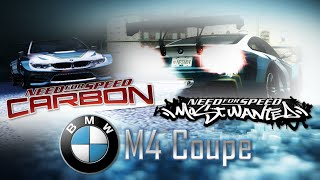 NFS Most Wanted (2005) & NFS Carbon | BMW M4 No Limits (Mods) [HD]