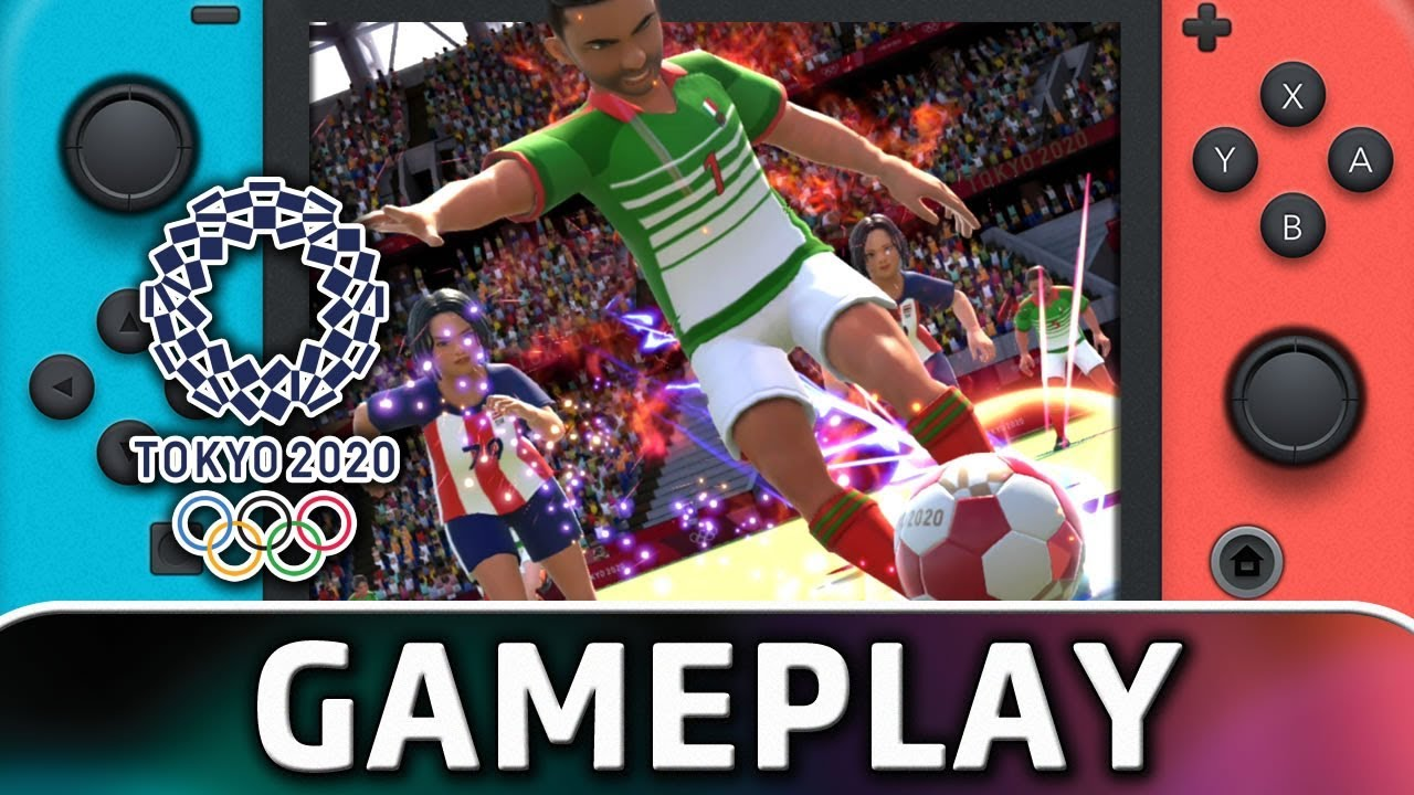 Olympic Games Tokyo 2020 | Football Gameplay on Nintendo Switch