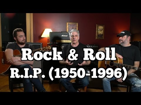 What Killed Rock & Roll? (Hint: It Wasn't Hip Hop)