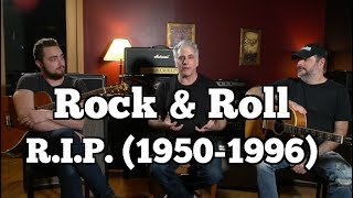What Killed Rock & Roll? (Hint: It Wasn't Hip Hop)