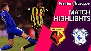Watford v. Cardiff City | PREMIER LEAGUE MATCH HIGHLIGHTS | 12/15/18 | NBC Sports