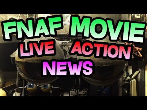 FNAF MOVIE to use REAL ANIMATRONICS? || LIVE ACTION FNAF MOVIE || Five Nights At Freddy's Movie NEWS