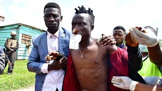 Music producer for presidential candidate Bobi Wine wounded in clashes in Uganda