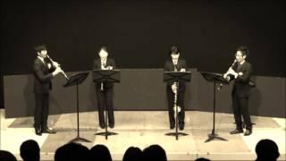 クラリネット四重奏 アンサンブル 演奏会 RC.