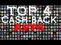 The Top 4 CASH BACK Apps You Need🤔📲 (2019) $40+ A WEEK 2019