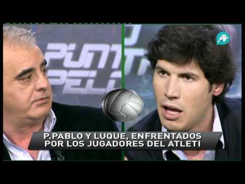 """Albert Luque a Pedro Pablo: """"¡Bájame el tono!"""""""