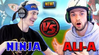 NINJA ROASTS ALI-A!! INSANE JETPACK PLAYS! | Fortnite Highlights & Funny Moments #40