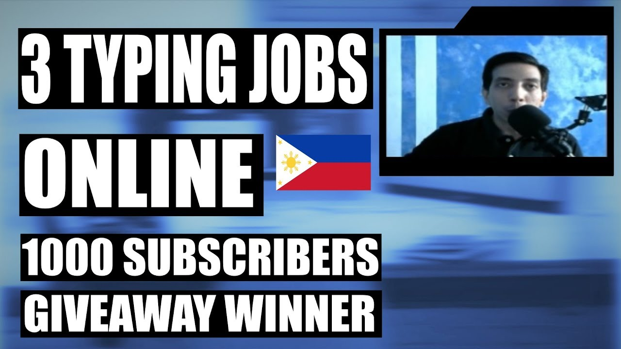 Home based Typing Jobs Philippines - A Definitive Guide + List of Sites