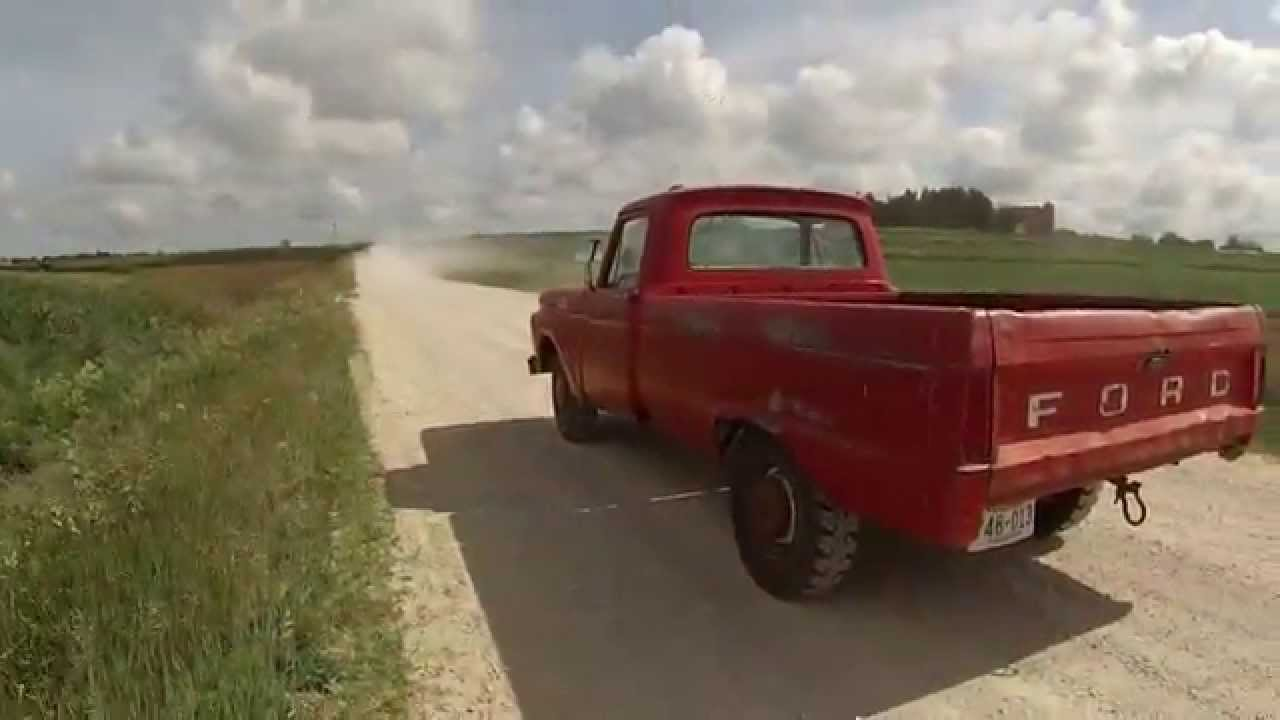 1964 ford iowa farm truck barn find youtube. Black Bedroom Furniture Sets. Home Design Ideas