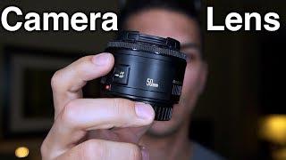 Camera Lenses for Video – Understanding Lenses for Beginners (Focal Length, Aperture, Focusing)