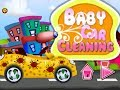 Car Cleaning Girls Games   -    Cartoon Games For Kids  Video - Free Car Games To Play  N