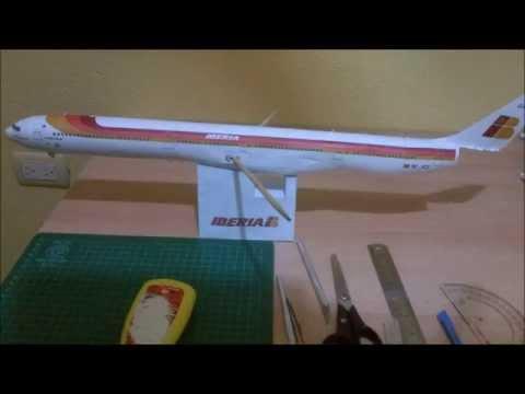 Papercraft Iberia A340-600 Papercraft