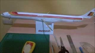Iberia A340-600 Papercraft