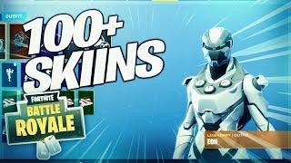 * NEU* Locker Showcase In Fortnite Battle Royale!!! - Seltene Eon-Haut!!! - Über 100 Skins!!!