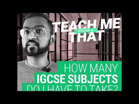 How Many IGCSE Subjects Do I Have To Take?