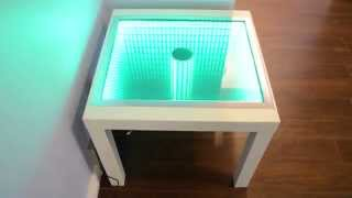Small Coffee Table With Sphere In The Middle