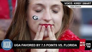 DN90: UGA's odds of beating Florida take dip after LSU loss